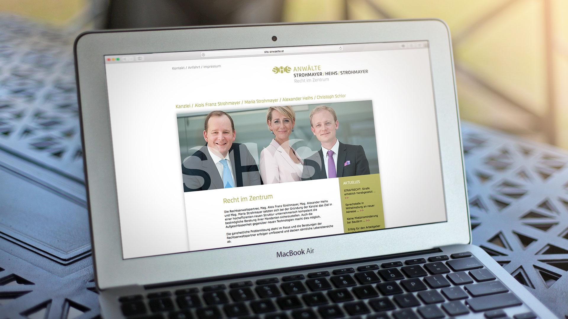 SHS web-site