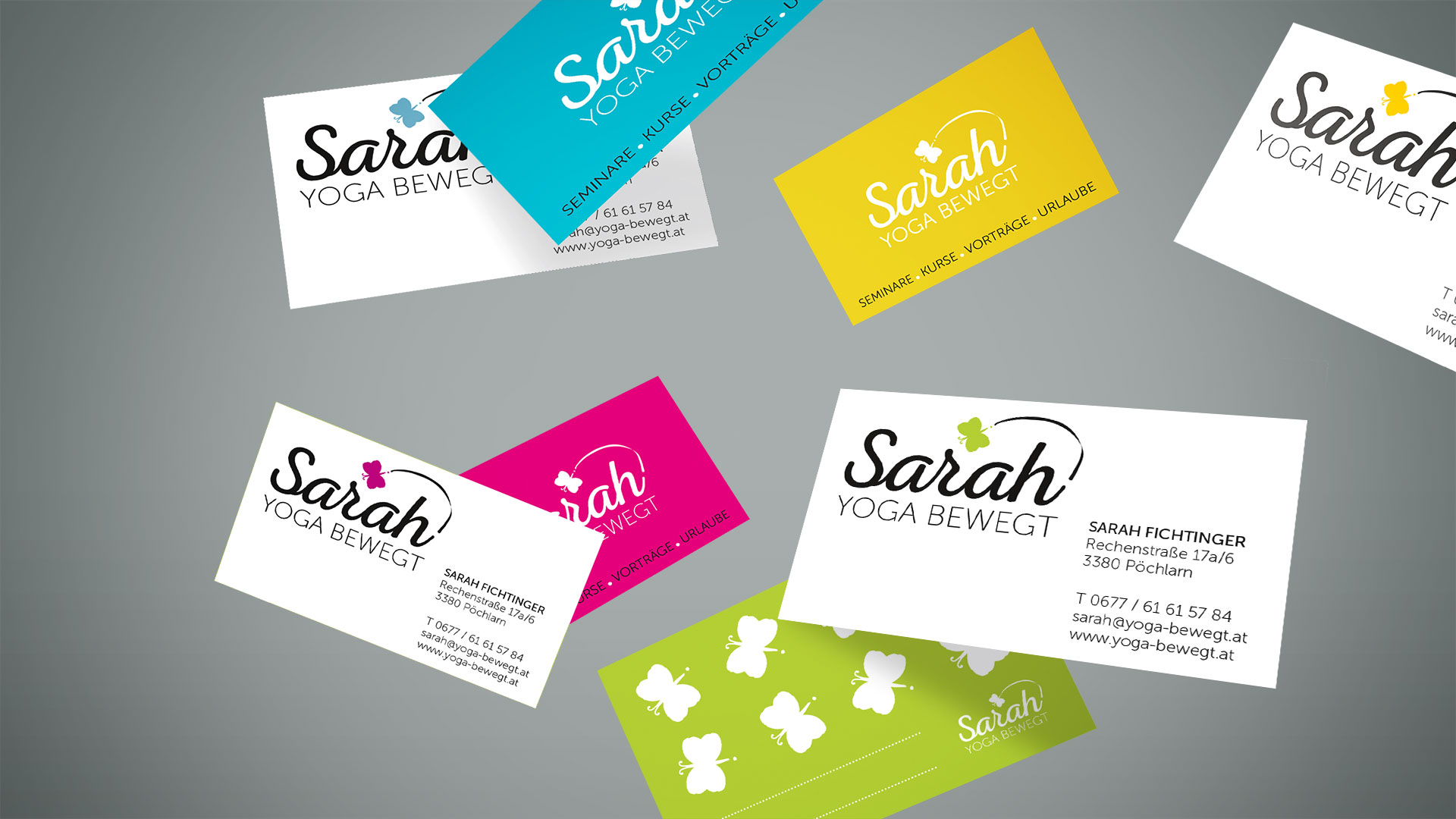 Sarah Corporate Design