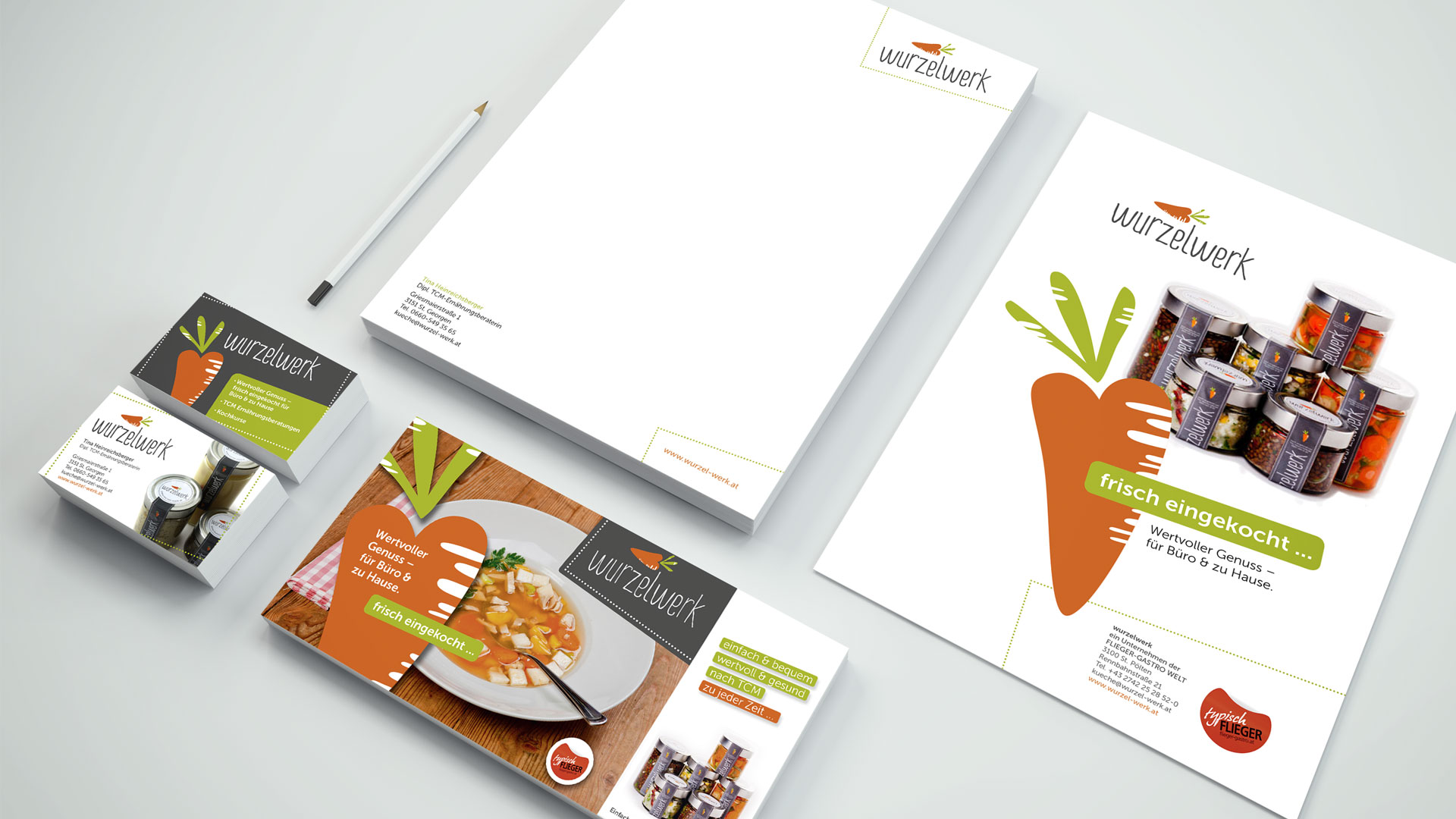Wurzelwerk Corporate Design