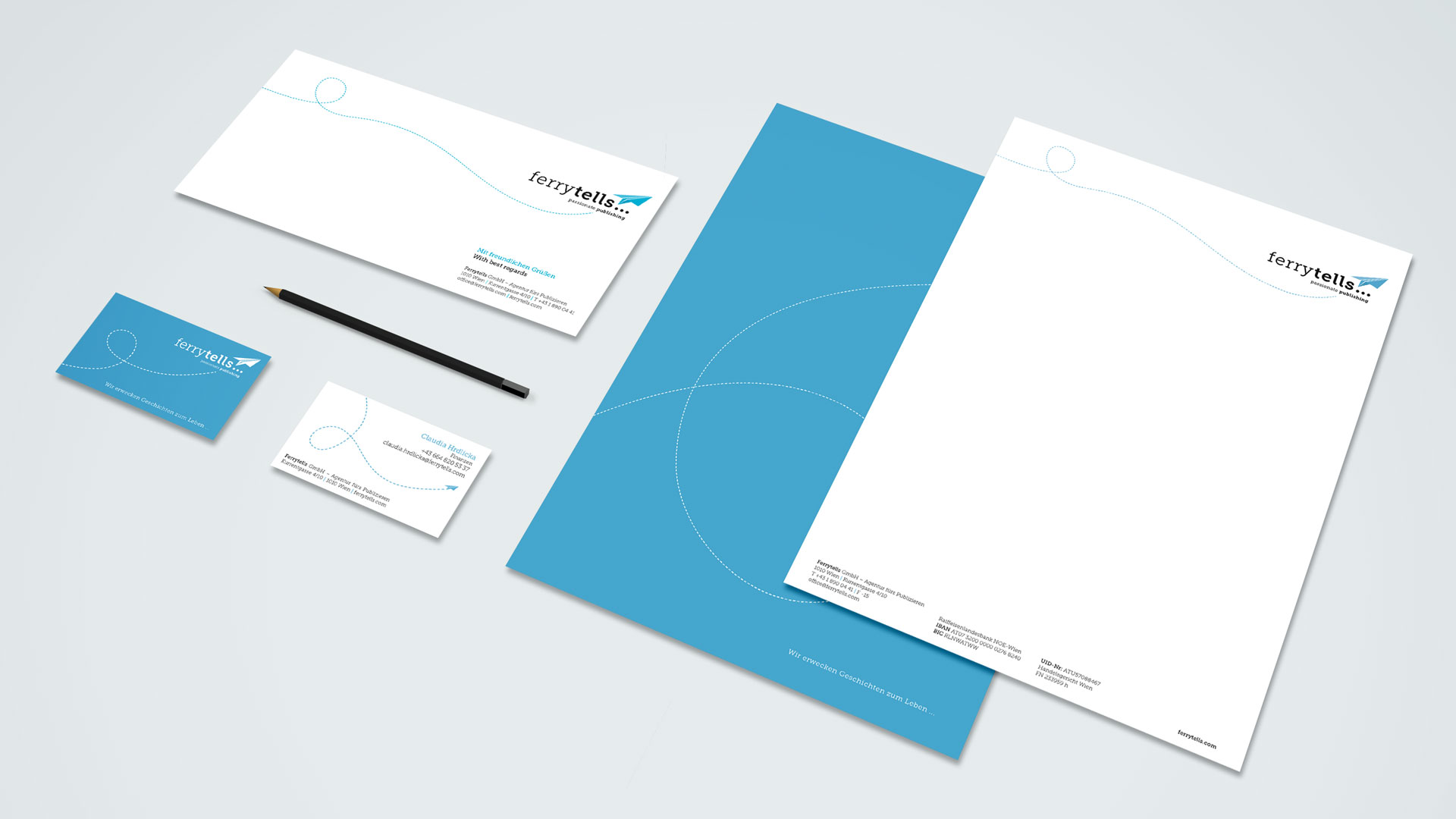 Ferrytells Corporate Design