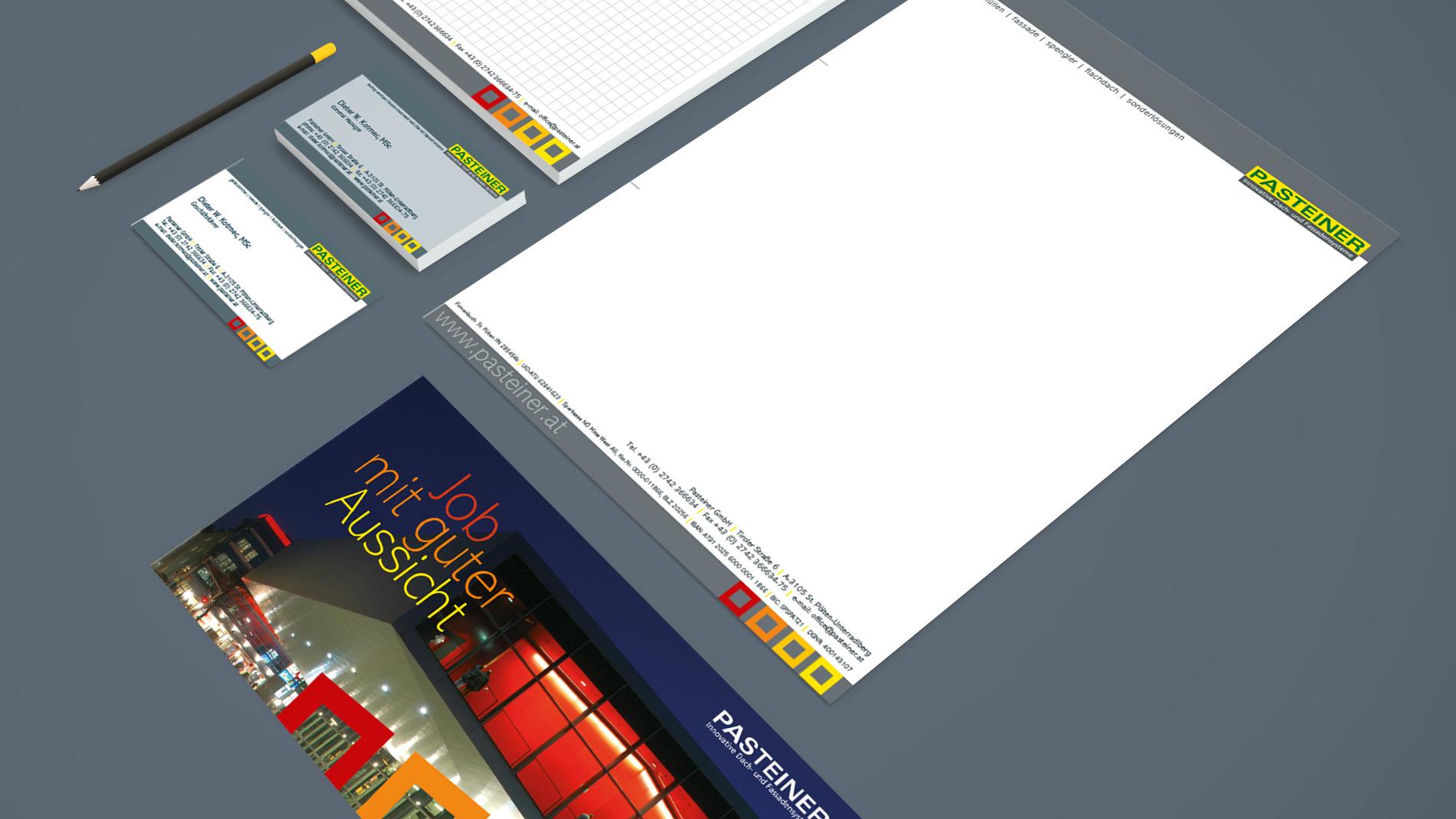 Pastellner Corporate Design